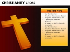 Chirstian Cross PowerPoint Templates For Churches