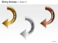 Circle Arrows 2 PowerPoint Slides And Ppt Diagram Templates
