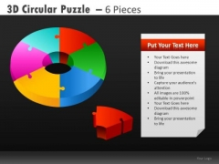 Circle Pie Charts PowerPoint Slides And Cycle Diagrams Ppt Templates