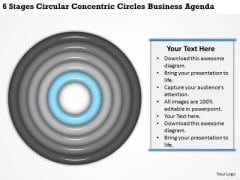 Circles Business Agenda Ppt 2 How To Write Plan Template Free PowerPoint Slides