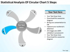 Circular Chart 5 Steps Ppt Business Plan For PowerPoint Templates