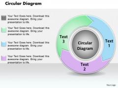Circular Diagram PowerPoint Presentation Template
