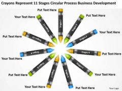 Circular Process Business Development Ppt Sample Continuity Plan PowerPoint Templates