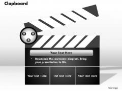 Clapboard PowerPoint Presentation Template
