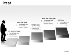 Climbing Steps PowerPoint Slides And Ppt Diagram Templates