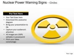 Clipart Nuclear Power Warning Signs Circles PowerPoint Slides And Ppt Diagrams