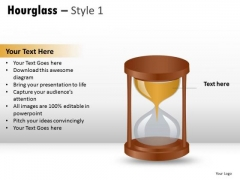 Clock Concept Hourglass 1 PowerPoint Slides And Ppt Diagram Templates