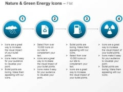 Cloud With Recycle Petrol Pump For Green Energy And Nature Ppt Slides Graphics