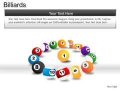 Collection Billiard Balls PowerPoint Slides And Ppt Diagram Templates