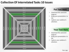 Collection Of Interrelated Tasks 10 Issues Ppt Create Business Plan PowerPoint Slides