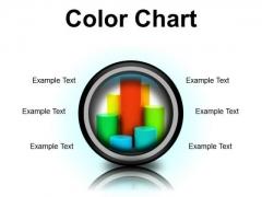 Color Chart Business PowerPoint Presentation Slides Cc
