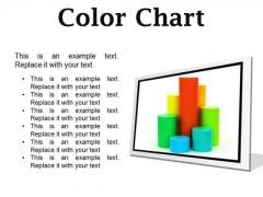 Color Chart Business PowerPoint Presentation Slides F