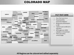 Colorado PowerPoint Maps