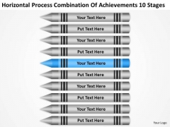 Combination Of Acheivements 10 Stages Ppt Massage Business Plan PowerPoint Slides