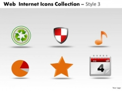 Common Web Internet Icons PowerPoint Slides And Ppt Diagram Templates