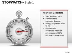 Communication Stopwatch 1 PowerPoint Slides And Ppt Diagram Templates