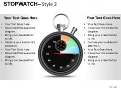 Communication Stopwatch 2 PowerPoint Slides And Ppt Diagram Templates