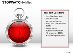 Communication Stopwatch Misc PowerPoint Slides And Ppt Diagram Templates