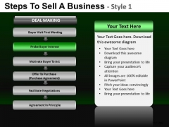Company Steps To Sell A Business 1 PowerPoint Slides And Ppt Diagram Templates