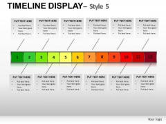 Company Timeline Display PowerPoint Slides And Ppt Diagram Templates