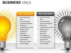 Compare Business Ideas PowerPoint Slides And Ppt Diagram Templates