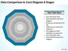 Comparison In Core Diagram 6 Stages Ppt Photography Business Plan Template PowerPoint Templates