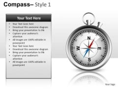 Compass Clipart Graphic Image Editable Slide