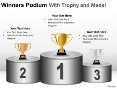 Competition Success Winners Podium PowerPoint Slides And Ppt Diagram Templates