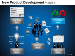 Competitor New Product Development 3 PowerPoint Slides And Ppt Diagram Templates