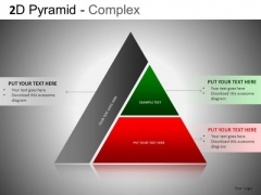 Complex Pyramid Ppt Slide