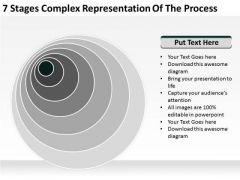 Complex Representation Of The Process Business Plan PowerPoint Templates