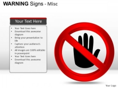 Computer Warning Signs PowerPoint Slides And Ppt Diagram Templates