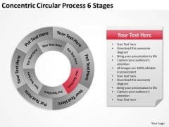 Concentric Circular Process 6 Stages Ppt Writing Up Business Plan PowerPoint Slides