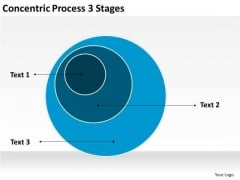 Concentric Process 3 Stages Ppt Business Plan PowerPoint Templates