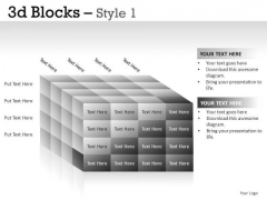Concept 3d Blocks 1 PowerPoint Slides And Ppt Diagram Templates