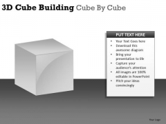 Concept 3d Cube Building PowerPoint Slides And Ppt Diagram Templates
