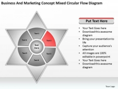 Concept Mixed Circular Flow Diagram Ppt Business Proposals Examples PowerPoint Templates