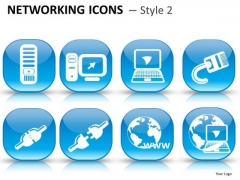 Concept Networking Icons 2 Instrument PowerPoint Slides And Ppt Diagram Templates