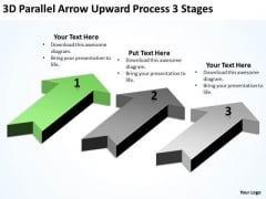 Concept Of Parallel Processing 3d Arrow Upward Stages PowerPoint Slides