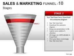 Concept Sales And Marketing Funnel 10 PowerPoint Slides And Ppt Diagram Templates