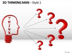 Confused Business Leader With Questions PowerPoint Templates And Ppt Slides