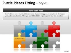 Connect Construct Puzzle Pieces PowerPoint Slides And Ppt Diagram Templates