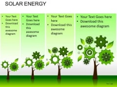 Conservation Solar Energy PowerPoint Slides And Ppt Diagram Templates