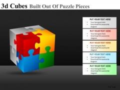 Construction Cubes Ppt Slides