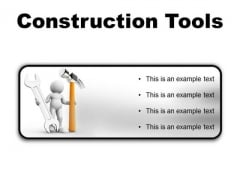 Construction Tools Industrial PowerPoint Presentation Slides R