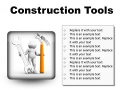Construction Tools Industrial PowerPoint Presentation Slides S