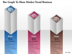 Consulting Slides Bar Graph To Show Market Trend Business Presentation