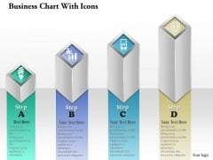 Consulting Slides Business Chart With Icons Business Presentation