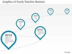 Consulting Slides Graphics Of Yearly Timeline Business Presentation