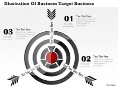 Consulting Slides Illustration Of Business Target Business Presentation